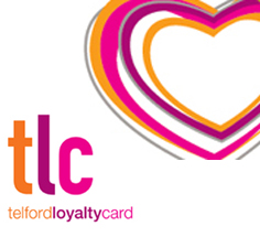 telford loyalty card logo